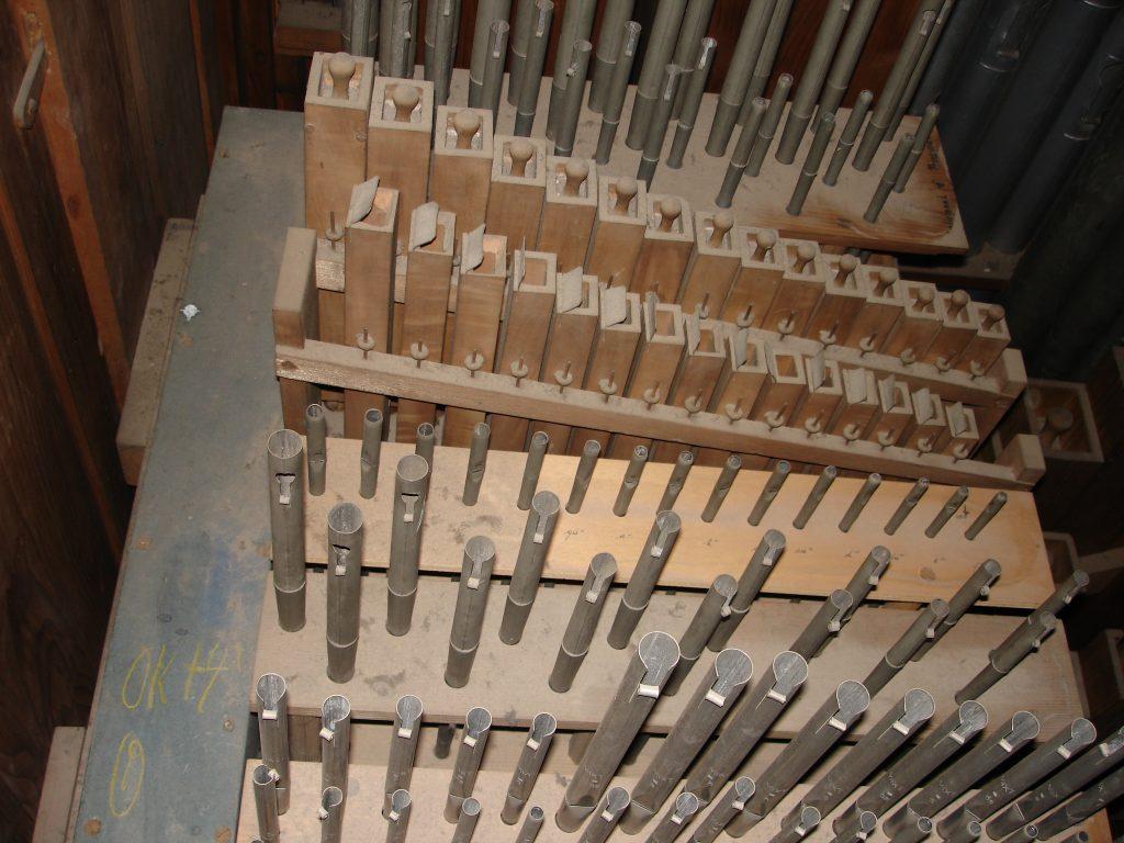 Orgelbau - Ausreinigung